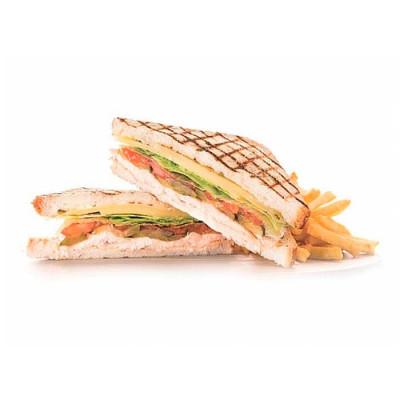 Клаб-сендвич с курицей